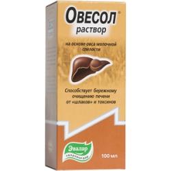 Овесол Эвалар капли