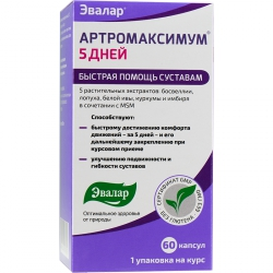 Артромаксимум 5 дней