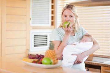 Похудение после родов на грудном вскармливании: на что обратить внимание