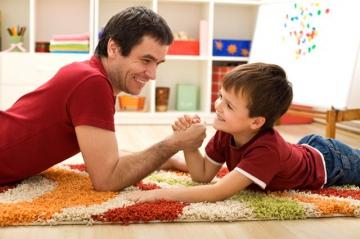 Задействуем папу в воспитании ребенка