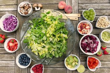 По цветам фруктов и овощей можно понять, какими витаминами они насыщены