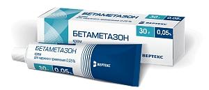 Бетаметазон – инструкция, применение, показания