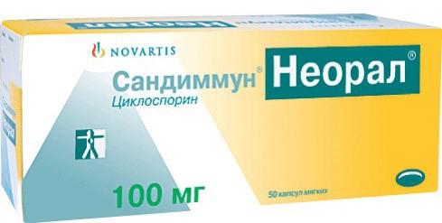 Развернутая инструкция по применению препарата неорал сандиммун
