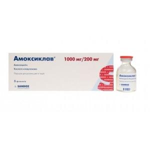 АМОКСИКЛАВ (ПОРОШОК) - инструкция по применению, цена, отзывы и аналоги