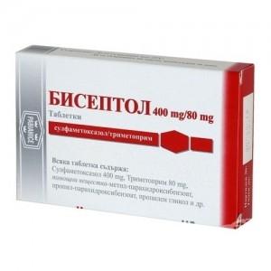 Бисептол 480 цена в Томске от 33 руб., купить Бисептол 480, отзывы и инструкция по применению