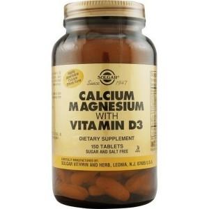 Солгар цитрат кальция с витамином Д3 – состав, инструкция и цена