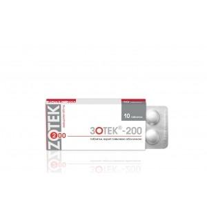 Зотекс 400 инструкция таблетки