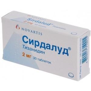 Таблетки сирдалуд показания к применению