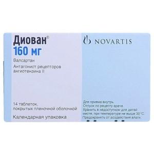 Диован цена от 1431 руб, Диован купить в Москве, инструкция по применению, аналоги, отзывы