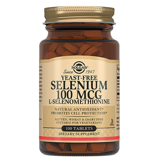 Солгар Селен-6 100 мкг 100 таблеток Solgar selenium 100 mcg