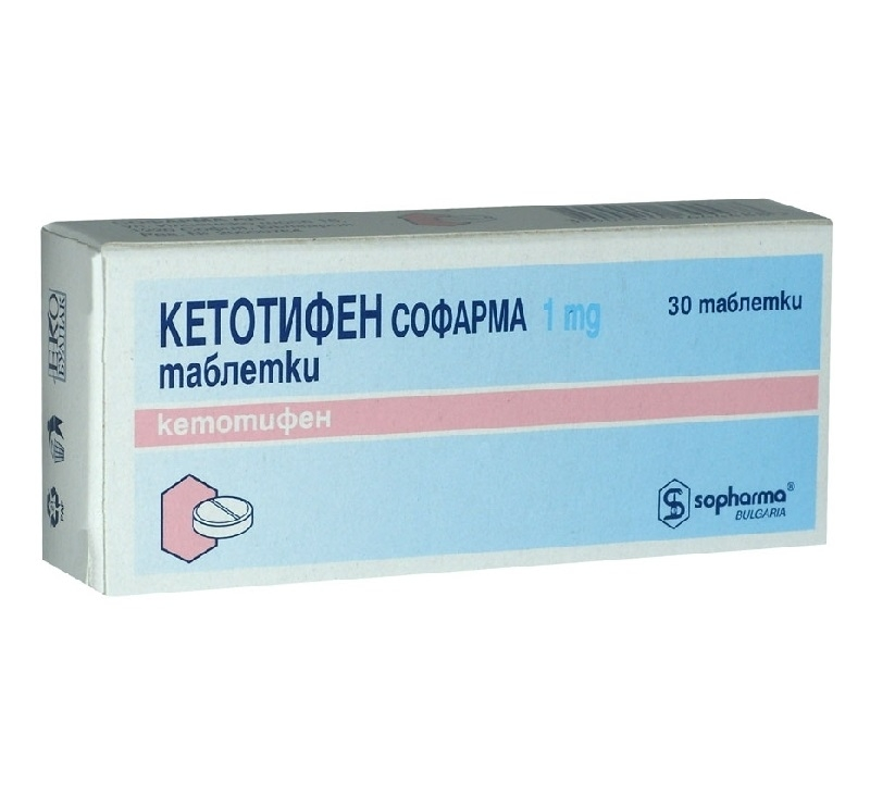 Кетотифен от аллергии: таблетки, капли, сироп